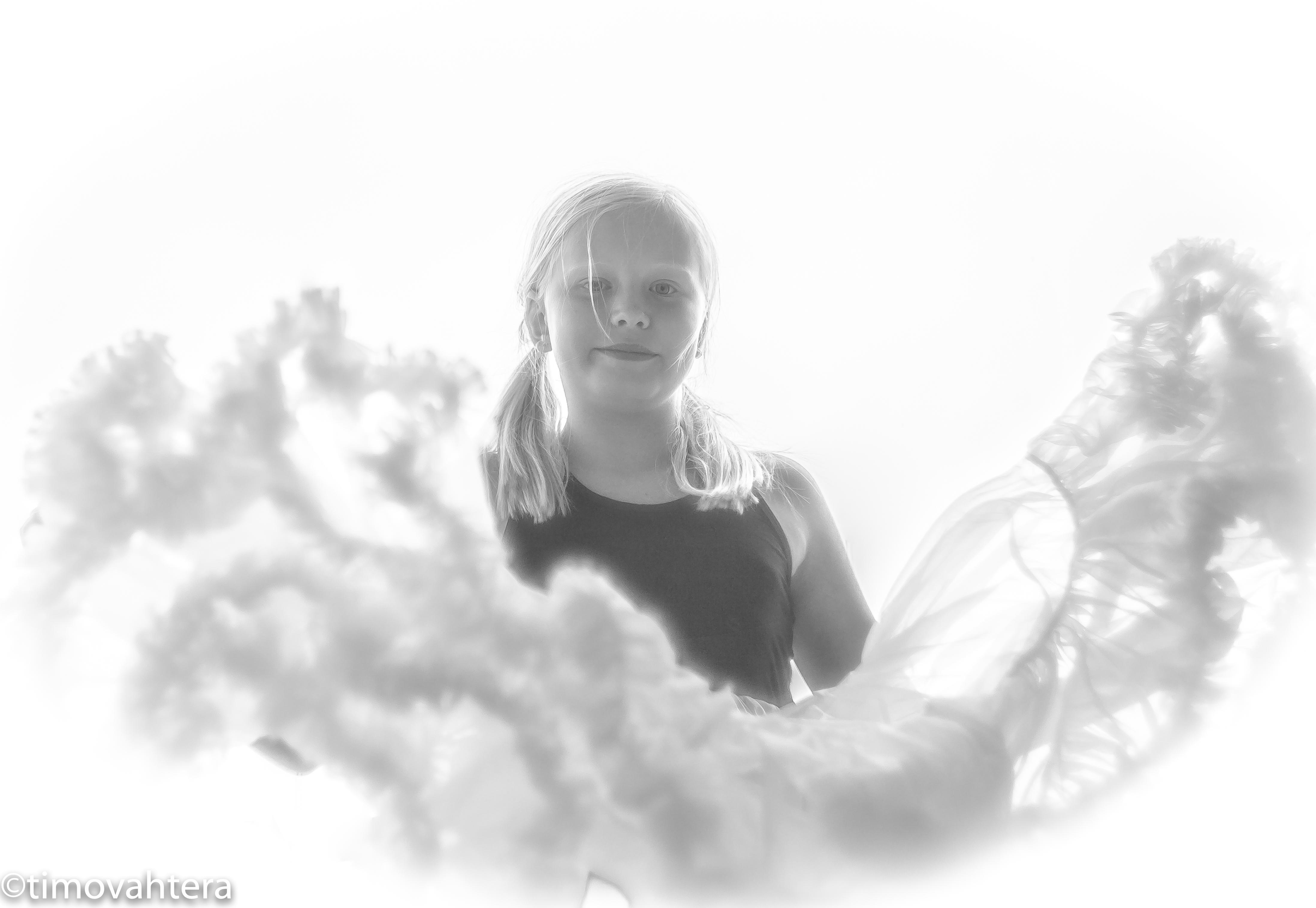 lasikuvaus muotokuvaus mustavalkoinen