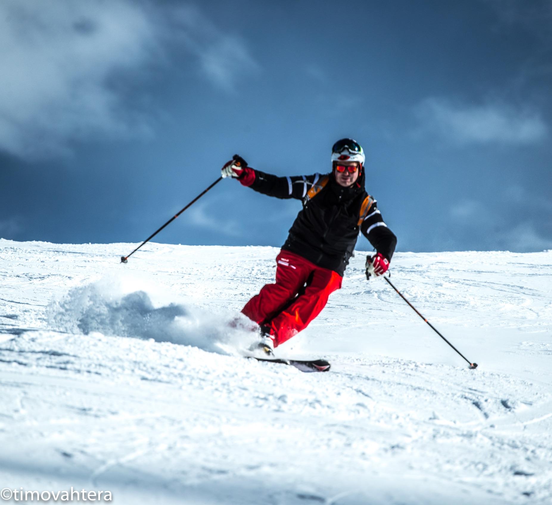 laskettelu slalom urheilukuvaus alpit schladming itävalta