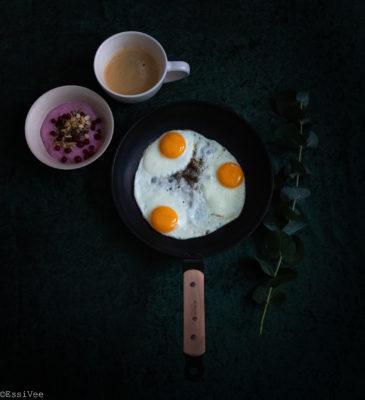aamiainen breakfast paistinpannu debuyer kananmuna