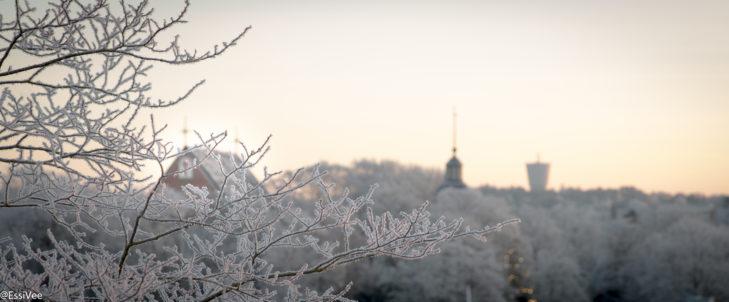 parainen kirkko maisema talvi