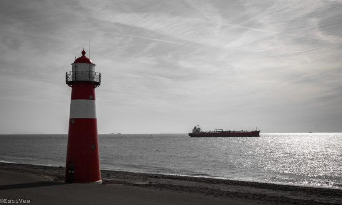 majakka merimaisema hollanti pohjanmeri maisemakuvaus matkakuvaus